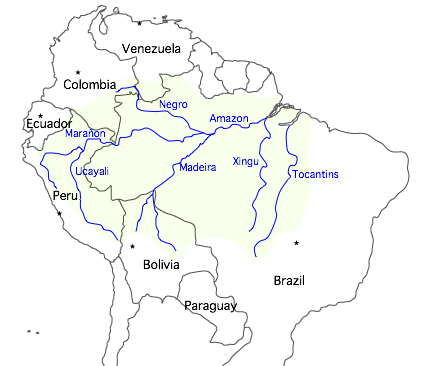 Rain forests of the world worlds largest contiguous tropical rainforest the vast amazon rainforest this lush and biologically rich forest covers the basin of the amazon also sciox Gallery